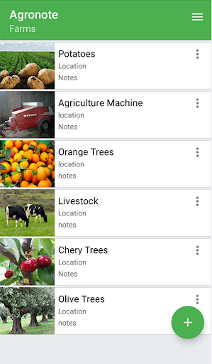 Agronote - Farm Record 2.66 screenshots 1