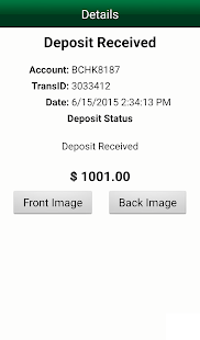 M&T Mobile Deposit - Business - screenshot thumbnail