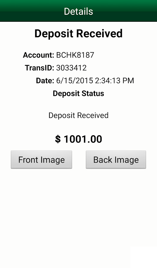 M&T Mobile Deposit - Business- screenshot