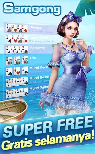 Samgong online samkong pulsa gratis poker free android2mod screenshots 1