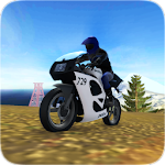 Police Moto Racing: Up Hill 3D Icon