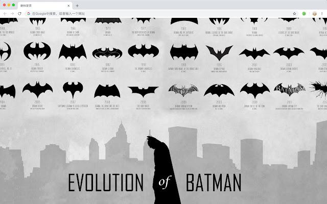 Bruce Wayne New Tab Wallpaper Collection