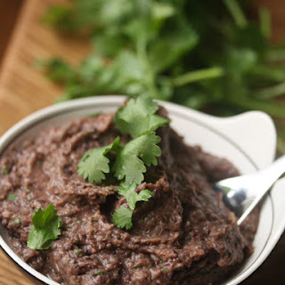Black Bean Dip with Cilantro Recipe