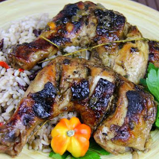 Simple Oven Jerk Chicken For Students And Busy People.