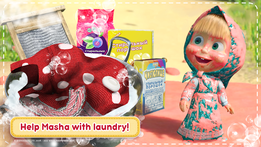 Masha and the Bear: House Cleaning Games for Girls 1.9.12 Cheat screenshots 1