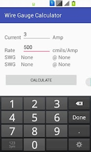 Wire gauge calculator android apps on google play wire gauge calculator screenshot thumbnail greentooth Image collections