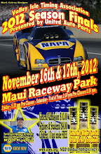 Photo: Bruce Wheeler's photos from Maui Raceway Park, November 16, 17, 2012.  These images are fully copyrighted, usage without formal permission is prohibited by law. (In other words; try ask fo' use 'em...please.)  DVDs of all full-size, high resolution images are available. For pricing, please inquire c/o wheelerdealer @ maui-angels . com  To see all of my Maui drags albums go here: https://picasaweb.google.com/115007308076880016720  Please visit my personal drag racing web pages: http://www.maui-angels.com/wheelerdealer  For track info: http://www.mrp.org  On Facebook: https://www.facebook.com/maui.raceway.park?fref=ts  https://www.facebook.com/pages/Bruce-Wheelers-Wheeler-Dealer-AAFuel-Dragsters/119133934834675?ref=ts&fref=ts  Poster art by Mark Caires Designs