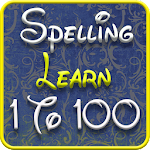 1 to 100 Spelling Learning Icon