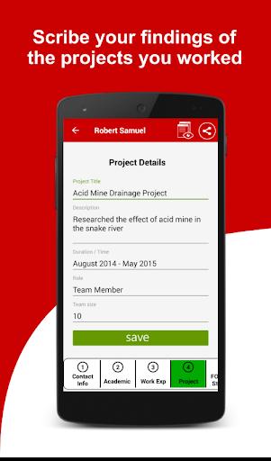 Resume Builder Free, 5 Minute CV Maker & Templates Screenshot