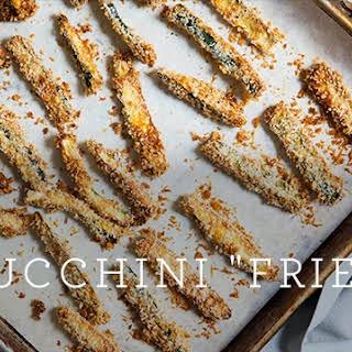 """Zucchini """"Fries""""."""