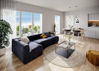 Appartement 3 pièces 60,19 m2