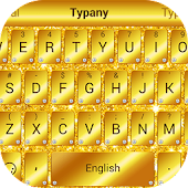 Golden Glitter Typany Theme