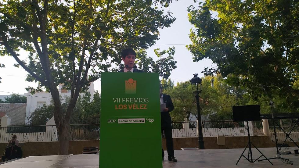 Guillermo Mirón, delegado de LA VOZ y la SER en el norte de la provincia de Almería.