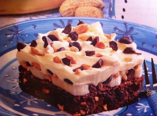 Banana Cream Brownie Bars Recipe