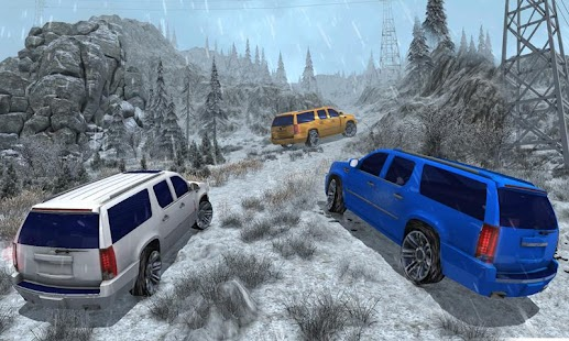 4x4 Escalade Snow Driving 3D- screenshot thumbnail
