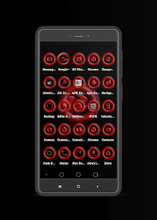 Royal Red Icon Pack Screenshot