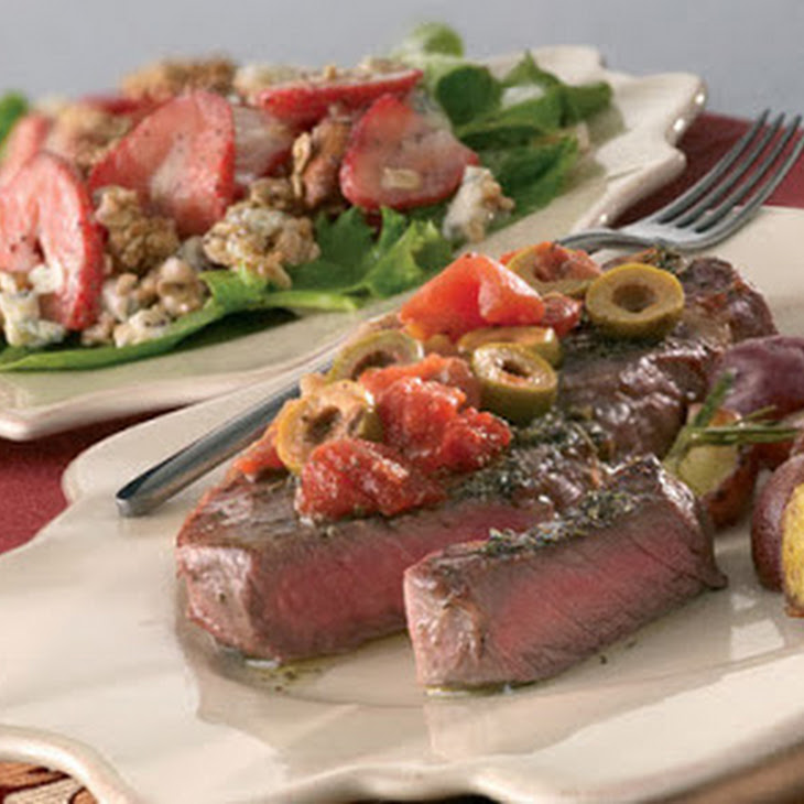Sicilian Steaks Recipe