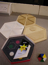 """Photo: """"Hexi"""". Year 11 Graphic Products. (Grade A*). Same student did the Multi -Alarm as well as this project."""