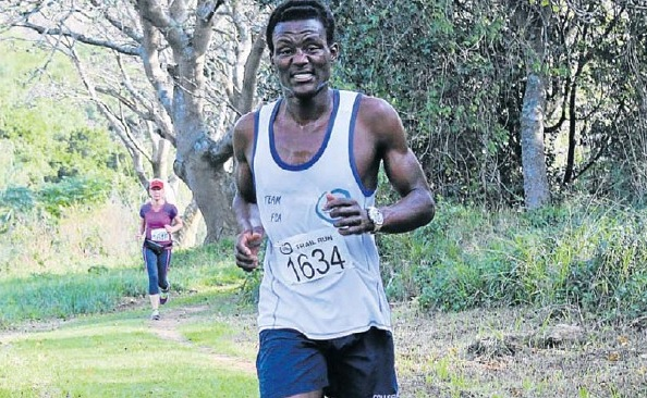 Mvuyisi Gcogco was the winner last year in the long version of the Spectrum Trail Run Series.