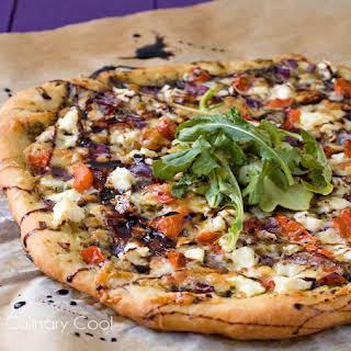 Bruschetta Pizza.