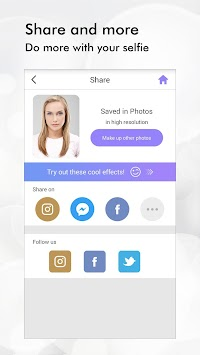 Perfect365: One-Tap Makeover APK screenshot thumbnail 6