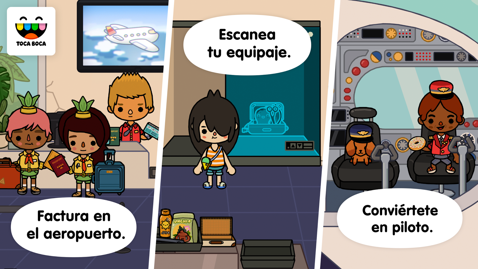 Toca Life: Vacation: captura de pantalla
