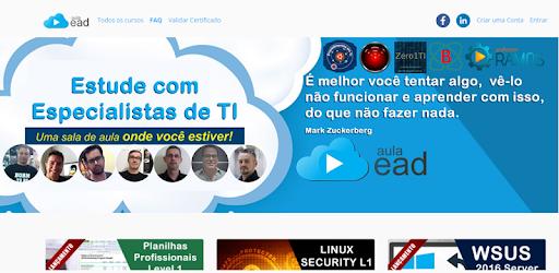 Aulaead Cursos De Ti Online On Windows Pc Download Free 1 30 Appinventor Ai Josedeassisfilho Aulaead Final