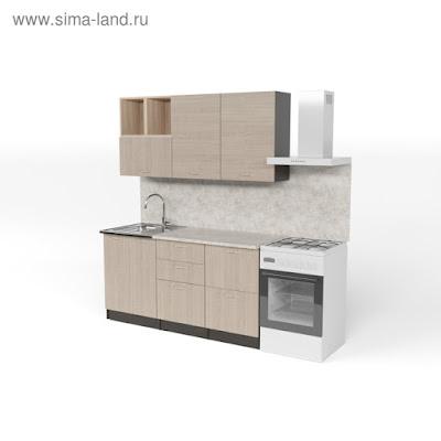 Кухонный гарнитур Надежда стандарт 4 1600 мм