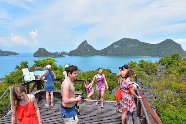 Viewpoint on Koh Mae Koh
