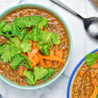 Lentil Soup With Quinoa Recipes