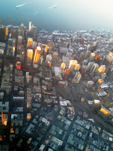 Photo: Seattle, view from Delta Flight 2193 (Mineapolis - Seattle)
