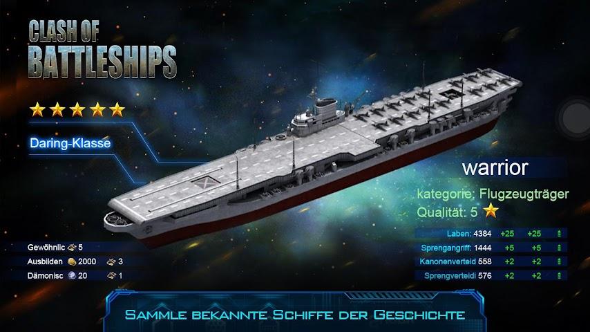 android Clash of Battleships Screenshot 1