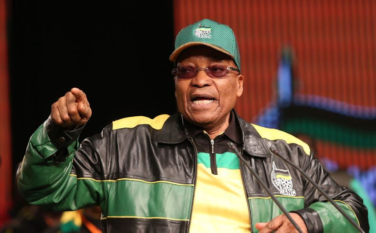 ANC President Jacob Zuma. File photo.