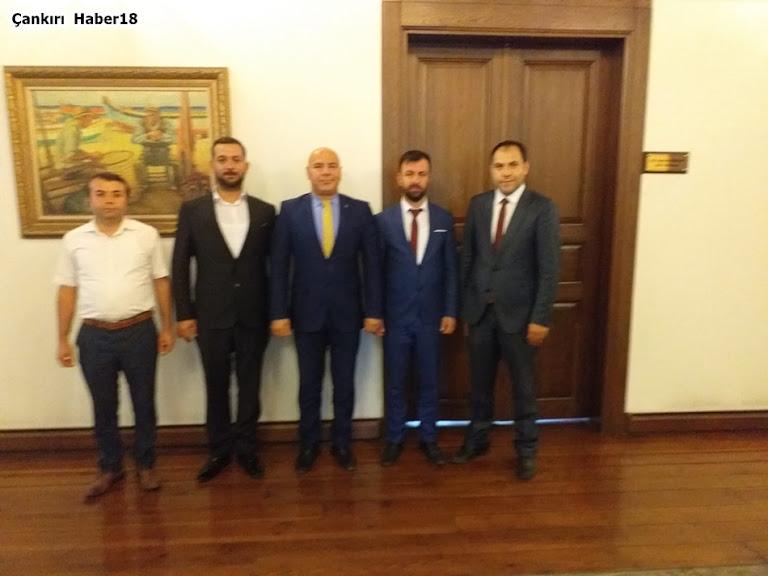 Alaaddin Arslan,İsmail Çataklı,Ayhan Özkan1074 Çankırspor,