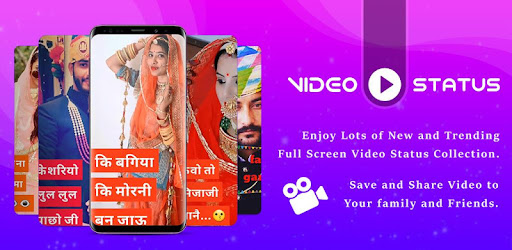 Rajasthani Full Screen Video Status - Apps on Google Play