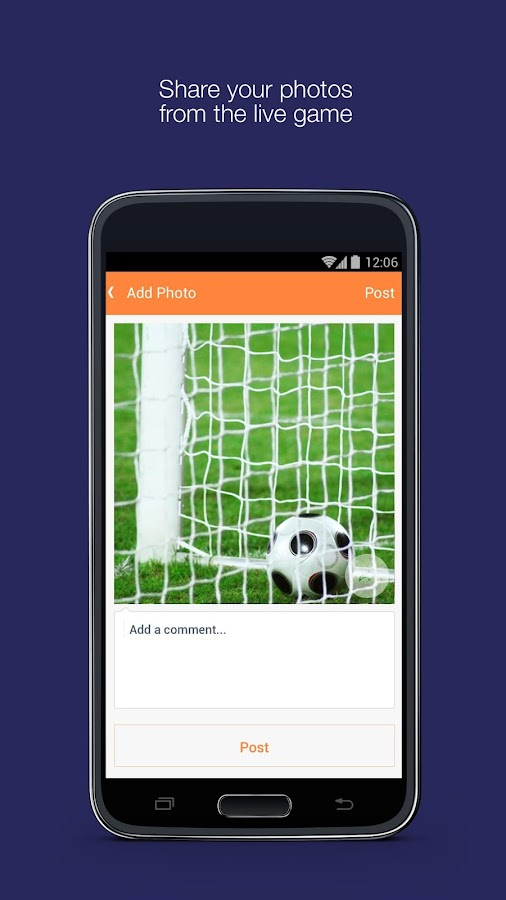 Fan App for Luton Town FC- screenshot