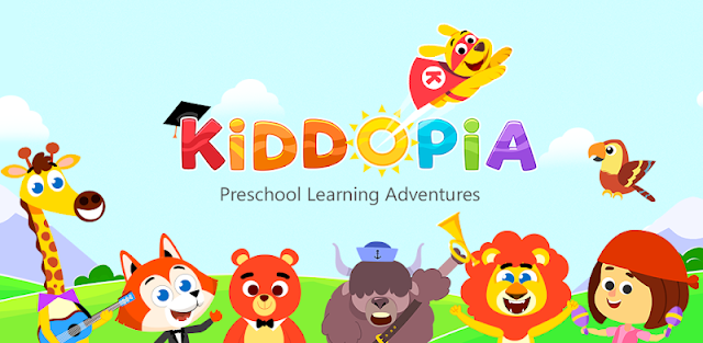 Kiddopia - Preschool Learning Games