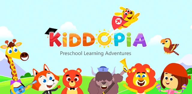 Kiddopia - Jogos de Aprendizagem Pré-Escolar
