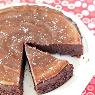 Flourless Chocolate Caramel Cake.