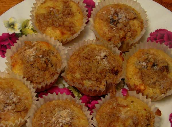 Muffins Shown Are Basic Sweet Cream With Maple Pecan Crumb Variation.