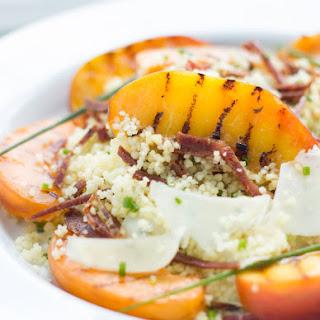 Stone fruit and Salami Salad
