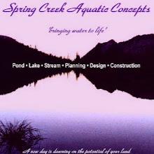 Photo: Natural Ponds Lakes & Streams by Biologists at Spring Creek  www.AquaHabitat.com
