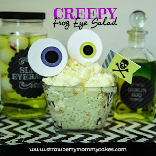 Creepy Frog Eye Salad
