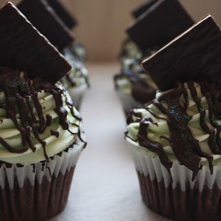 After Eight Cupcakes.