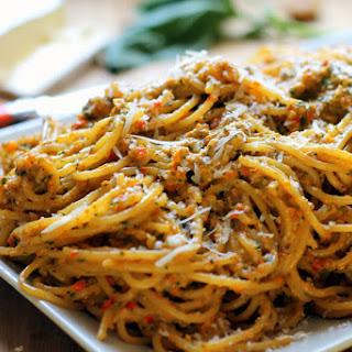 Red Pesto And Pasta Recipes.