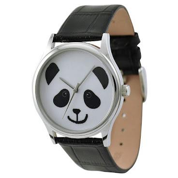 卡通熊貓手錶