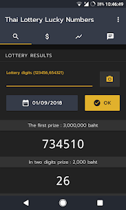 Thai Lottery Lucky Numbers 6.0.0 PREVIEW 3 [MOD APK] Latest 1