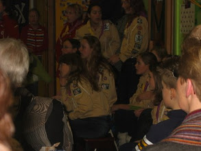 Photo: installatie scouts