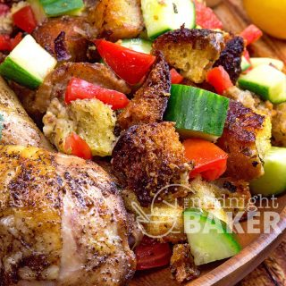 Moroccan (Sumac) Chicken & Warm Bread Salad