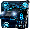 Fancy Black Car Launcher Theme Live HD Wallpapers APK